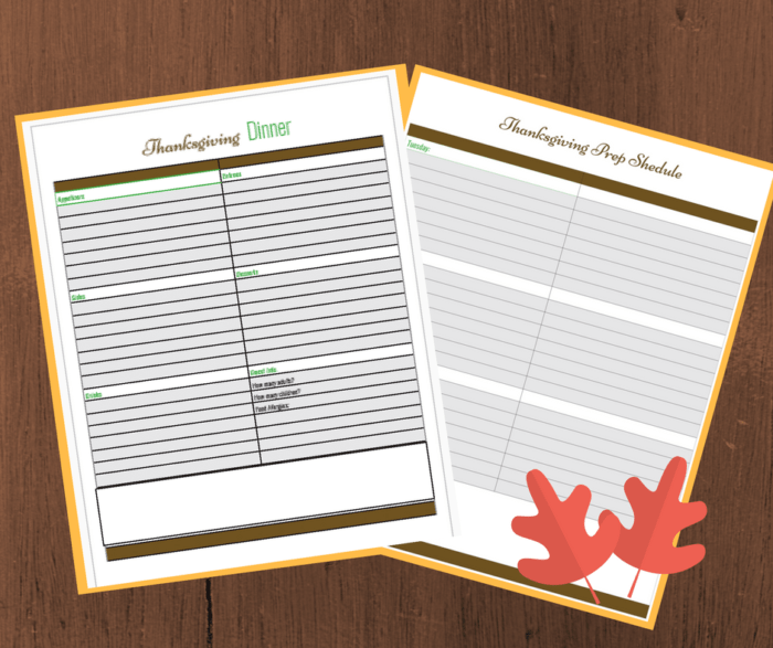 graphic about Thanksgiving Menu Planner Printable identified as No cost Thanksgiving Building Printables - Momma Can