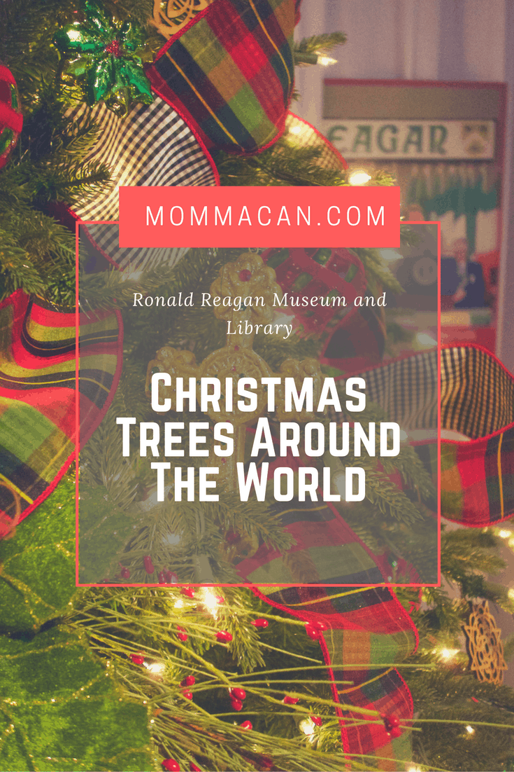 Come take a peek of our tour of Christmas Trees around the World at the Reagan Museum and Library in Simi Valley, CA