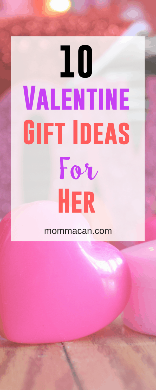 Grab these 10 Simple Gift Ideas and then wrote a sweet note to your Valentine! #Valentine #valentinegiftidea