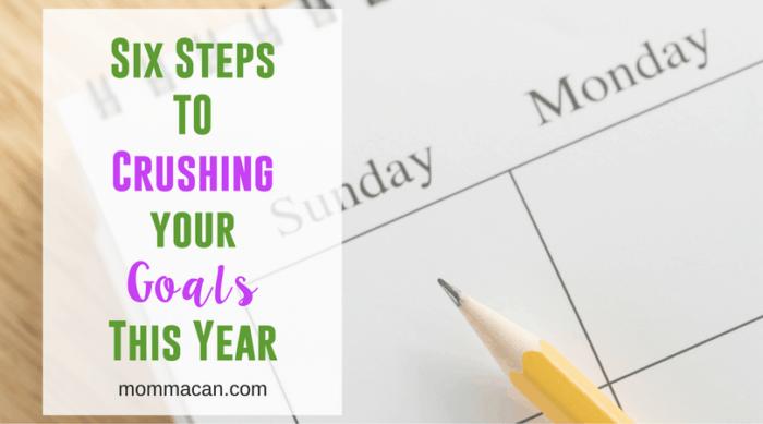 Crushing Your Goals