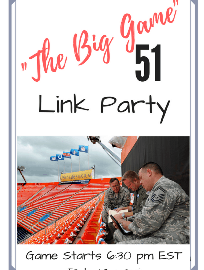 The Big Game – Football Food and Party Ideas