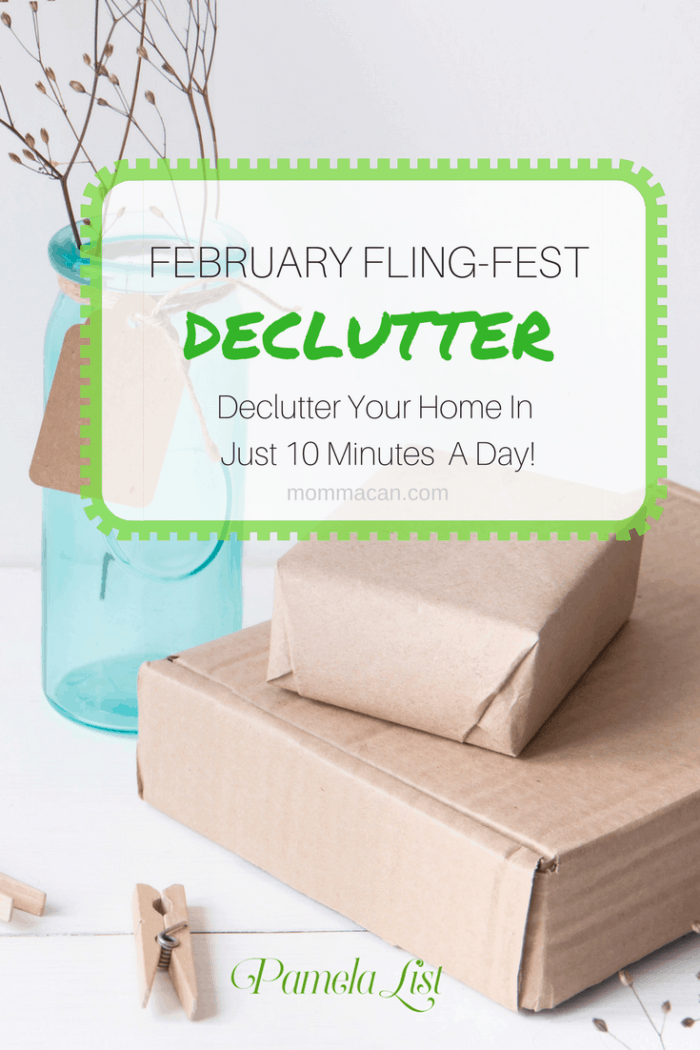 Feburary Flingfsest | Declutter your home in just 10 minutes per day.