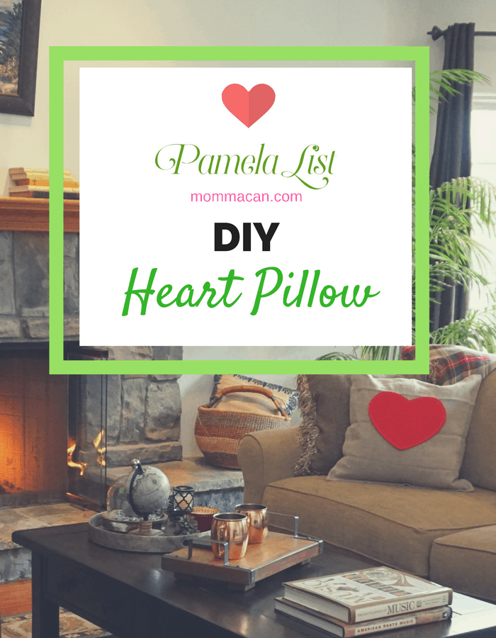 DIY Heart Pillow Momma Can Interesting Pillow Decorating Tips