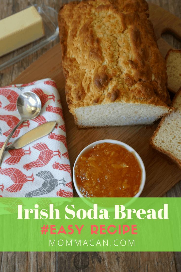 Easy Irish Soda Bread Recipe, so simple yet so darn yummy!
