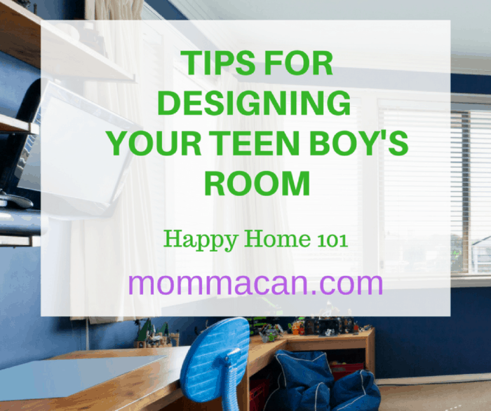 Tips For Designing Your Teen Boy's Room