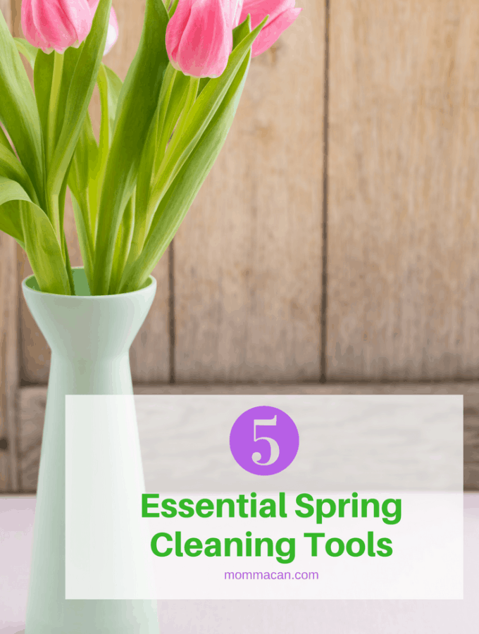 These five spring cleaning tools are my favorites and will make Spring Cleaning a Breeze! Get yours today!