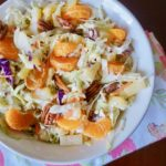 PIneapple Orange Pecan Coleslaw Recipe