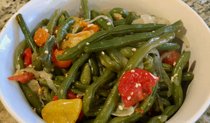 Green Beans for a Crowd - Mommacan.com