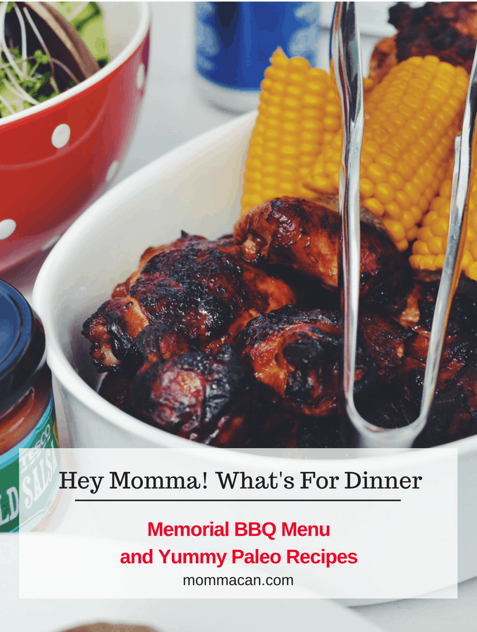 Memorial Day BBQ Menu and Yummy Paleo Recipes