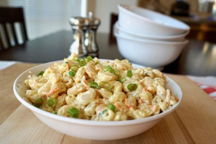 Gluten Free Hawaiian Macaroni Salad