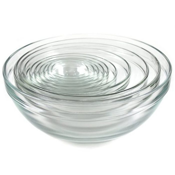 My favorite glass mixing bowls