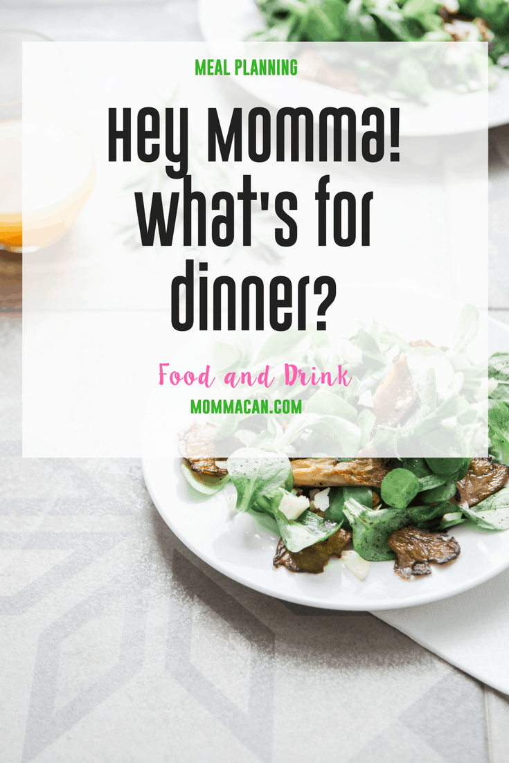 Find out what's for dinner at Momma's house this week! Veggies Yum!