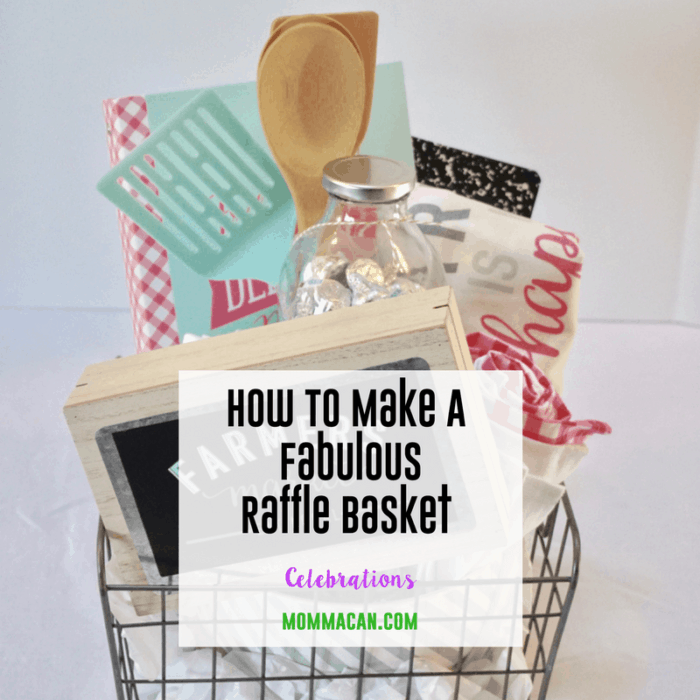 Make A Raffle Basket