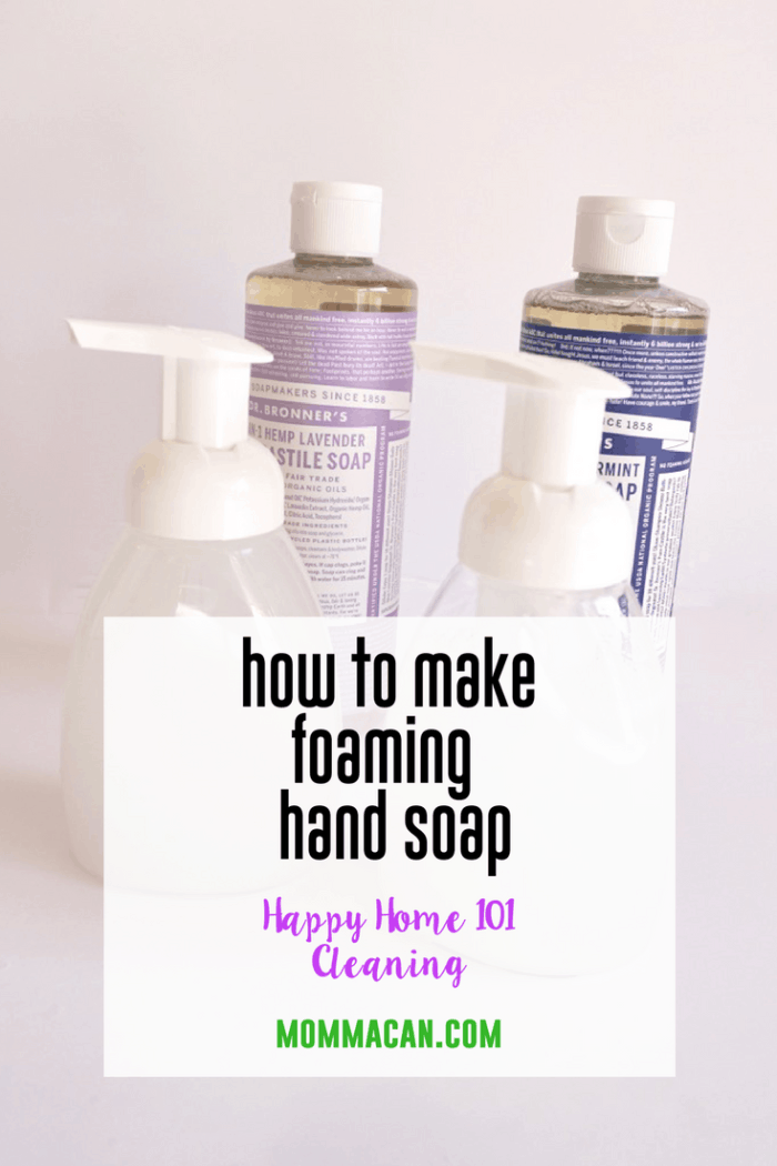 How To Make Faoming Hand Soap | Learn To Make Foaming Castile Hand Soap