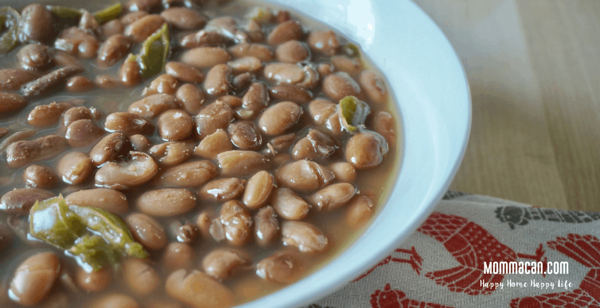No Soak Vegan Pinto Beans Recipe Momma Can