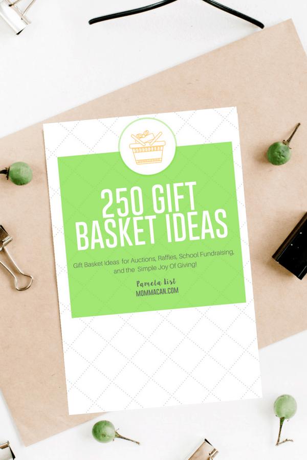 250  Auction Raffle Gift Basket Theme Ideas