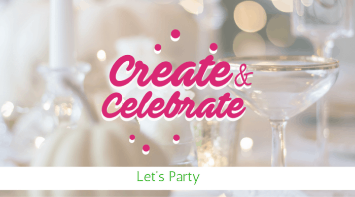 Create and Celebrate #8