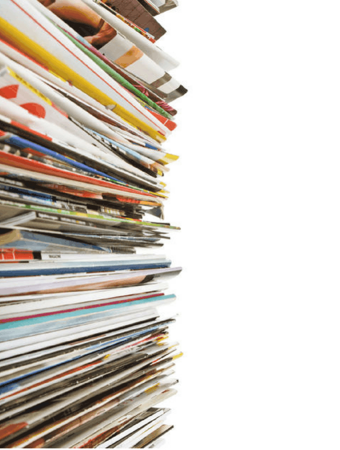 Declutter Magazines Save Money
