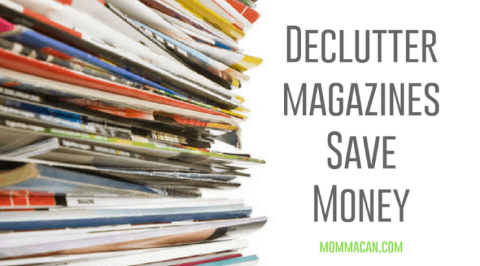 Declutter Magazines Save Money Uitlizing Pinterest Boards