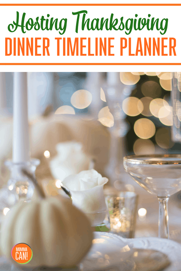 Hosting Thanksgiving Dinner Timeline Planner is the best method to plan and serve your Thanksgiving Dinner.