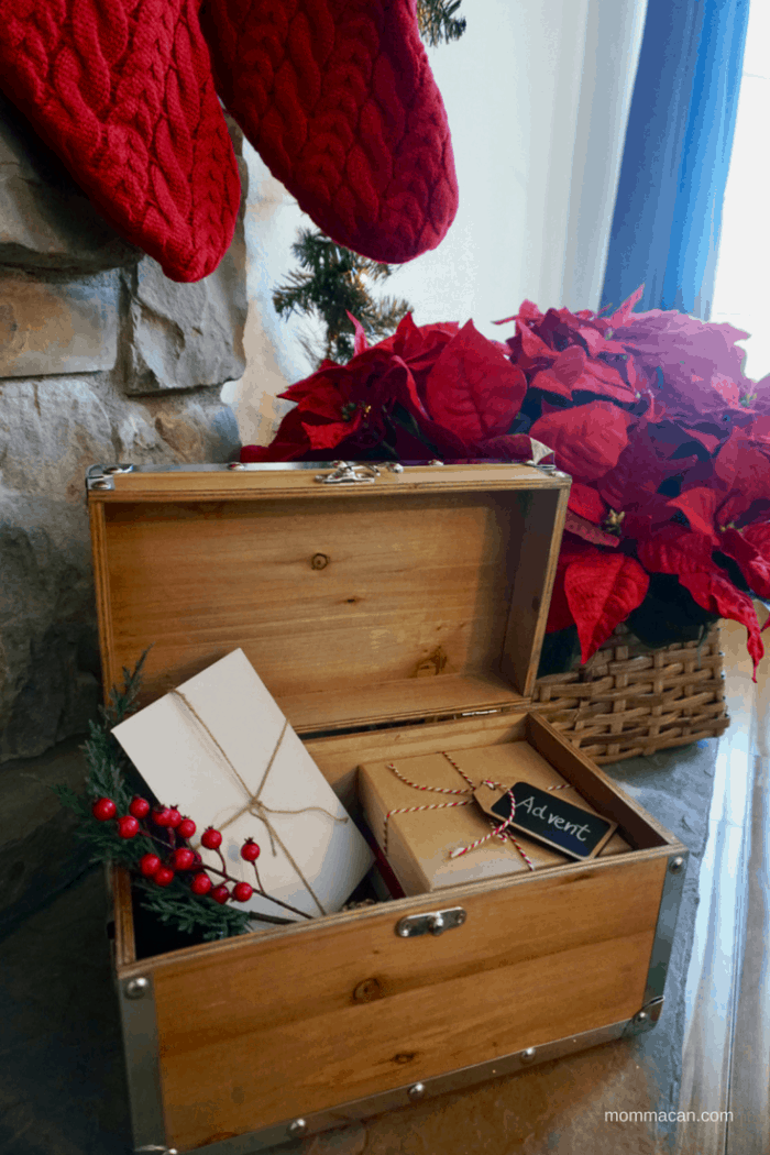 The Advent Box - Created By MommaCan.com