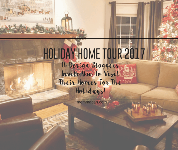 See Stunning Blogger Designed Holiday Homes Tour-16 Bloggers Design for Chirstmas