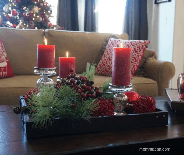Christmas Tray Vingette
