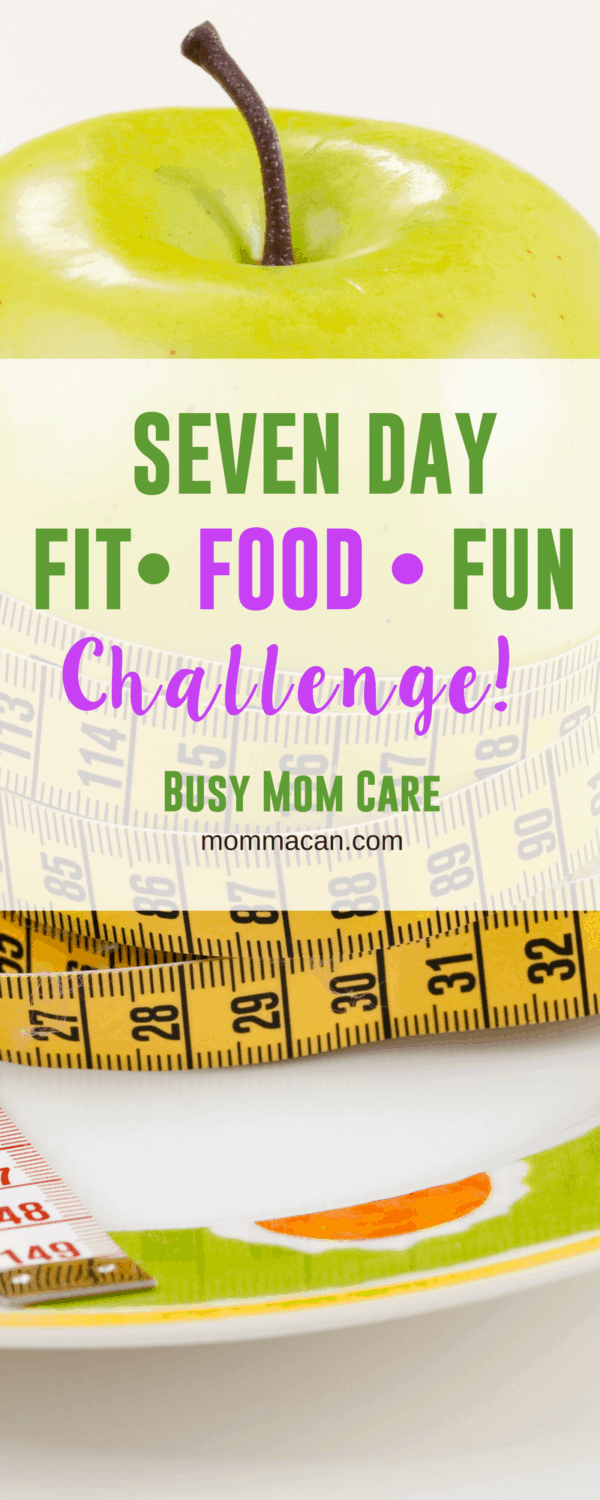 Seven Day Fit, Food, and Fun Challenge - Join the simple challenge that will jump start your healthy habits! #health #getfit #eatforlife