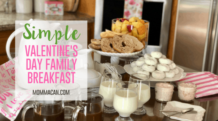 Simple Valentine's Day Family Breakfast