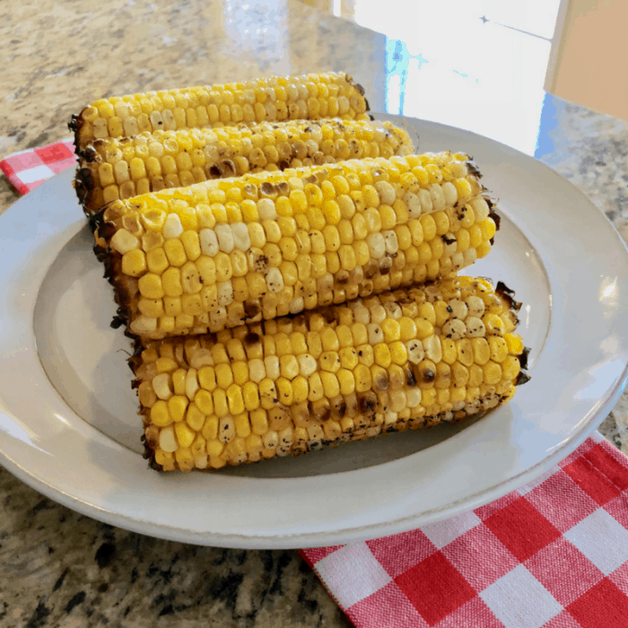 Simple Oven Roasted Corn on the Cob with real butter | Busy Mom Recipe for Corn
