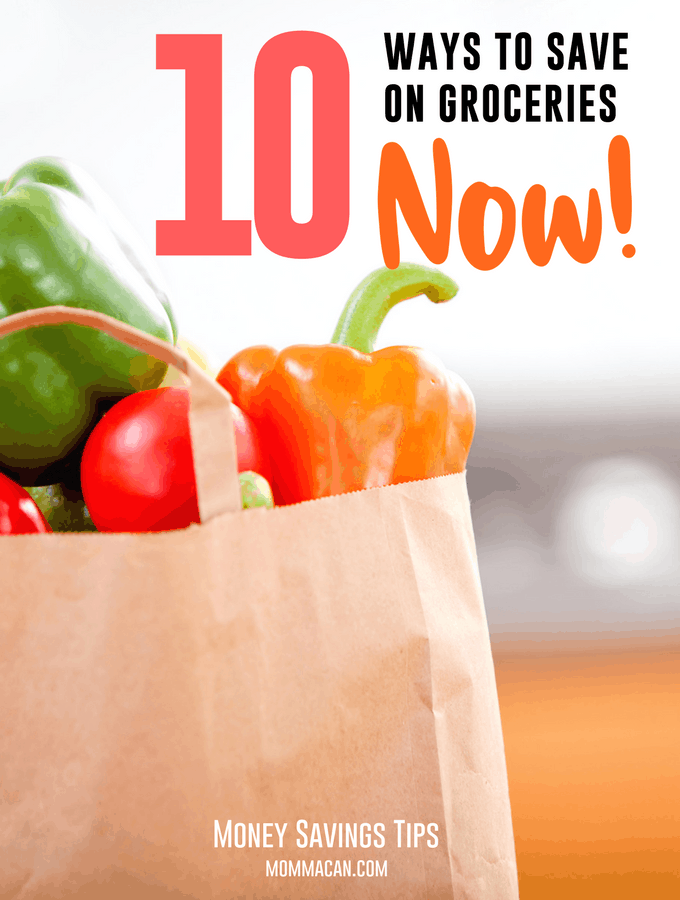 10 Ways To Save On Groceries Now , these tips will save your budget.