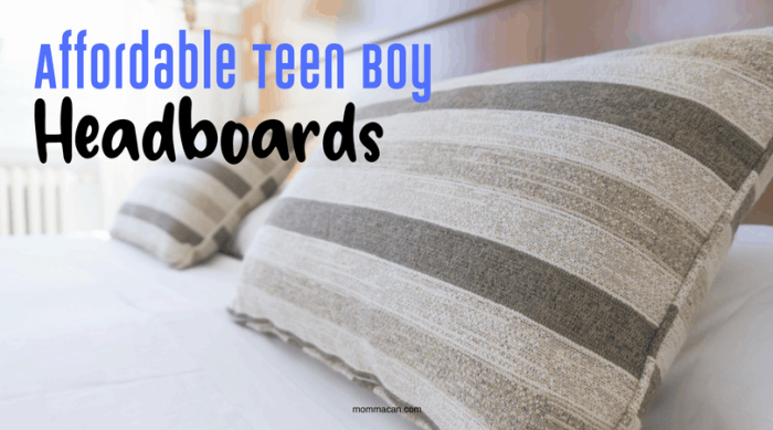 Shopping online is a snap when searching for afforable teen boy headboards.