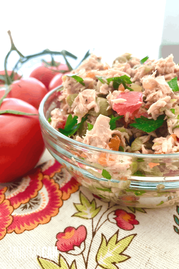 Italian Tuna Salad Recipe No Mayonaisse
