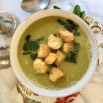 Easy Green Pea Soup Recipe