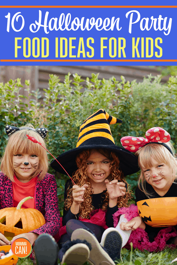 10 Halloween Party Food Ideas For Kids