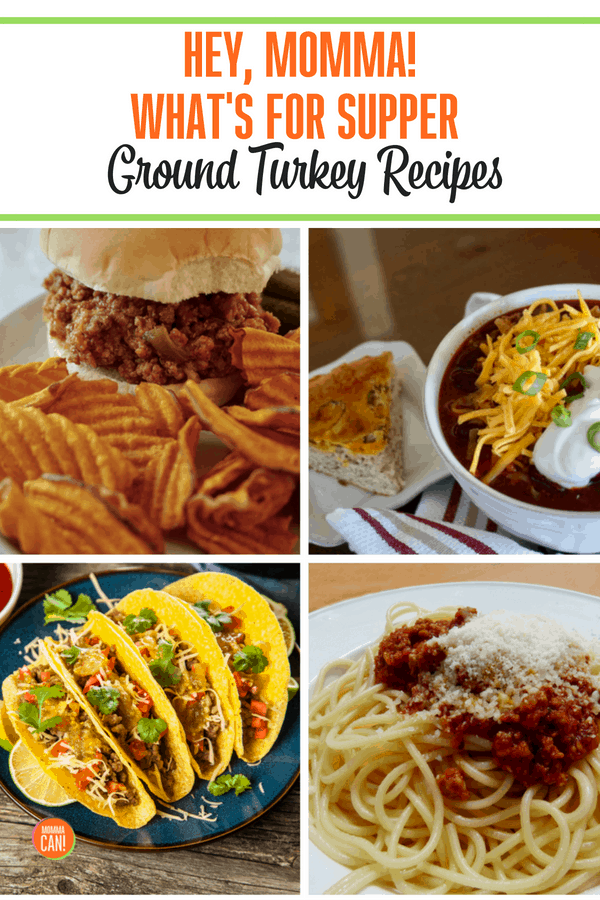 What's For Supper #54 Ground Turkey Recipes