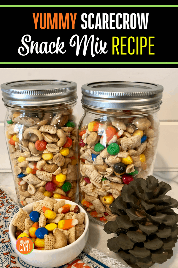 Grab a bowl and mix up a batch or two of this amazing Fall, Halloween, themed snack mix for your family. Kids and teens love it! It was easy to make and is a Yummy snack idea.