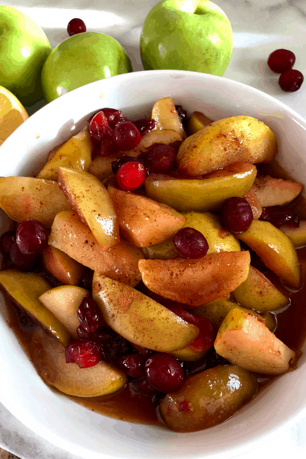 The Best recipe for Country Style Fried Apples and Cranberries