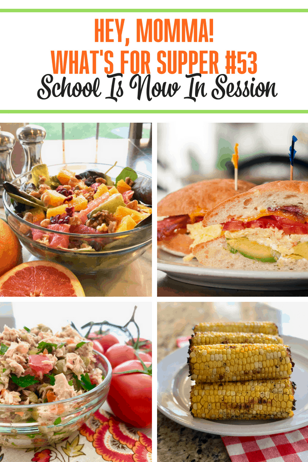What's For Supper #52 School Is Now In Session Grab our menu plan and get inspired in the kitchen this week!