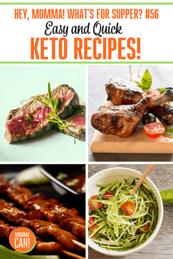 Eating healthy can be a real challenge in busy households. Many of my friends are practicing the Keto method of eating and have had weight loss and big boosts in energy. This week we are sharing Easy Quick Keto Recipes. And yes, even if you are not a Keto practitioner you are going to just love them!