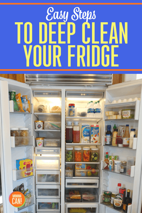 Learn these simple steps to deep clean your fridge.