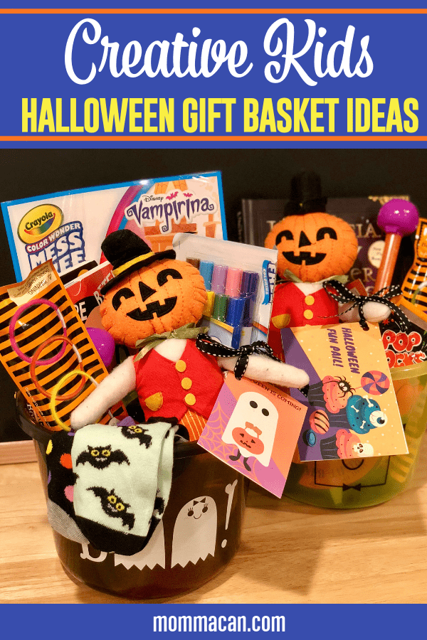 October is a month of fun for the family. We have been giving our kiddos surprise Halloween Fun Pails for years to make the excitement just a little more special. Kids Halloween Gift Baskets are so much fun!  Find out some neat ideas to create a super special gift basket for your loved ones. Don't spend megabucks, just get creative!