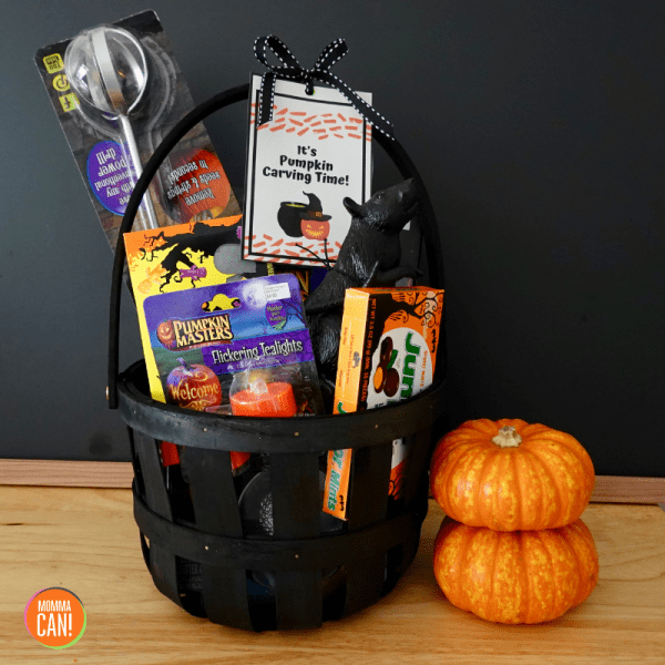 Halloween Pumpkin Carving Gift Basket