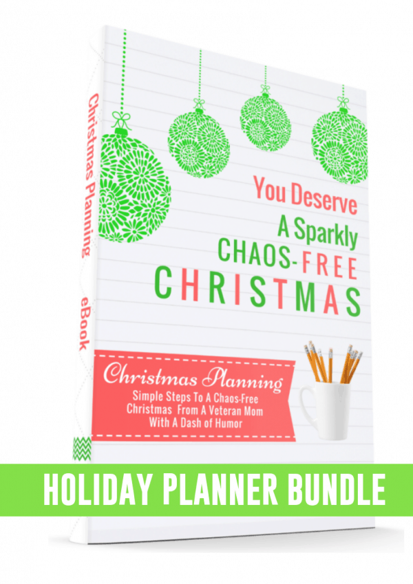 Holiday Planner Bundle