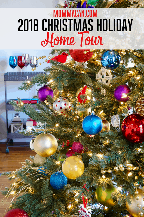 2018 Christmas Holiday Home Tour
