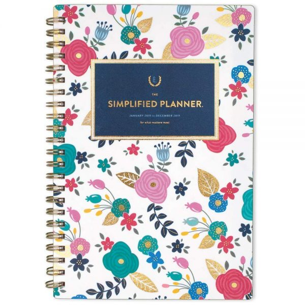 Emily Ley Simplified Planner a wonderful tool to kick of the new year.