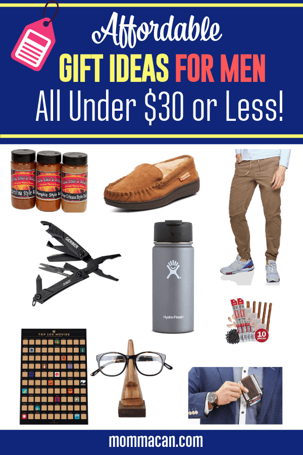 Affordable Gift Ideas Men Will Love