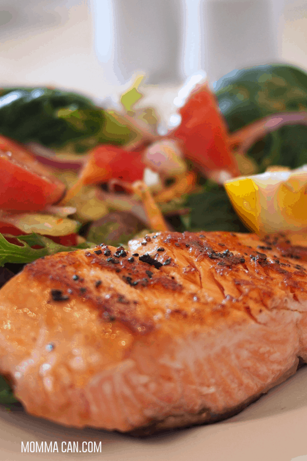 Salmon is a wonderful choice for Keto Family Friendly DInners
