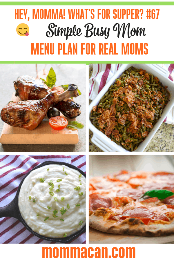 You must stop by and grab ideas from our Family Menu Plan for Real Moms! I mean! Dont you want to plan meals wihtout losing your mind?
