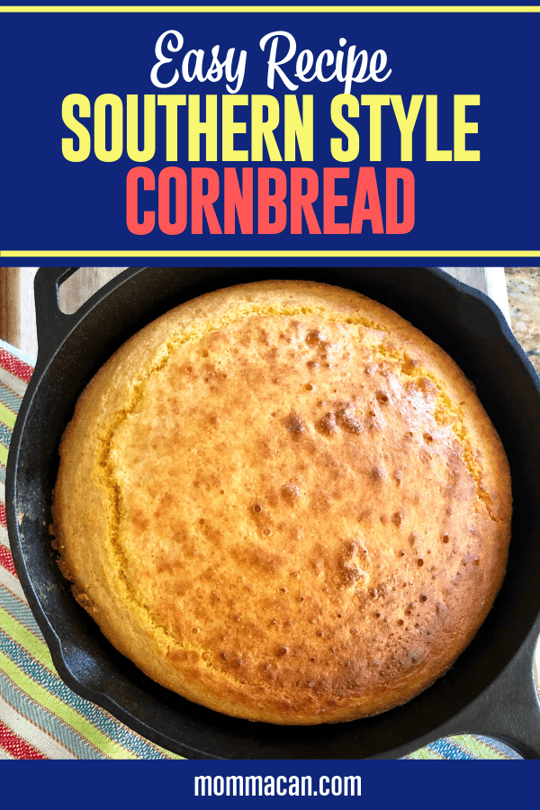 Southern Cornbread Without Buttermilk Recipe